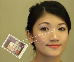 como afinar o nariz com maquiagem passo a passo