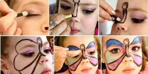 maquiagem infantil de carnaval