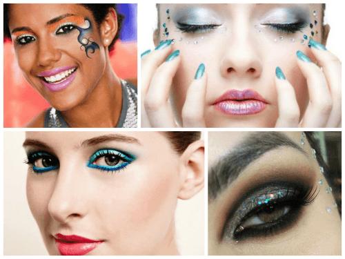 Maquiagens lindas para fantasias