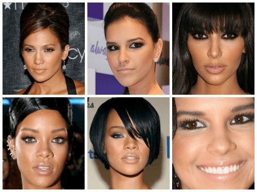 fotos de maquiagem para morenas
