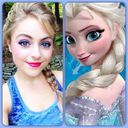 Maquiagem frozen fácil de fazer para cosplay