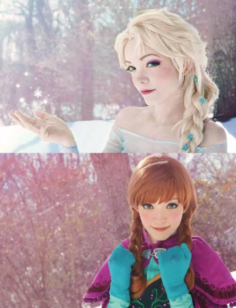 Maquiagem Frozen para cosplay passo a passo