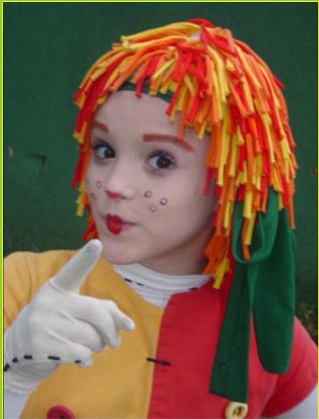 make up para copiar da boneca Emília