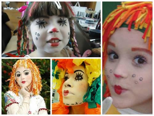 imagens da maquiagem da emilia para criança