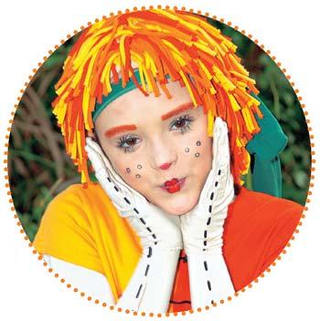 como é a maquiagem da emilia Rosto Da Emilia