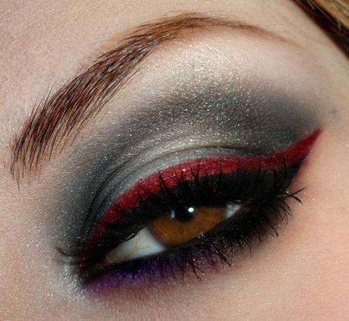 cores para make de vampira no olho