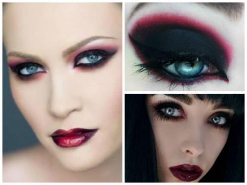 maquiagem de vampira bonita