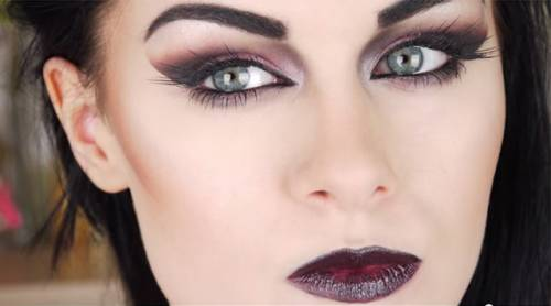 maquiagem de vampira moderna