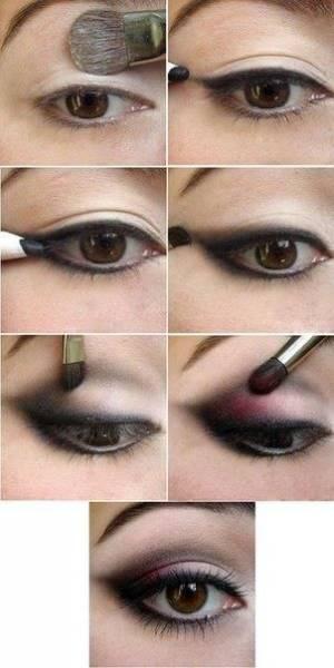 maquiagem de vampira simples e fácil