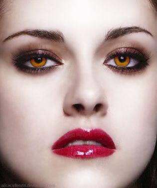 maquiagem Bella vampira - Crepúsculo