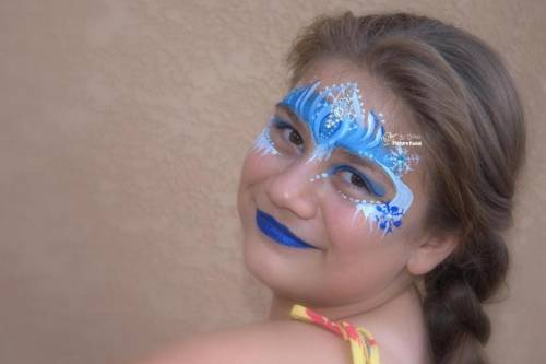 maquiagem-infantil-frozen-carnaval