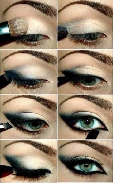 maquiagem de bruxa bonita passo a passo