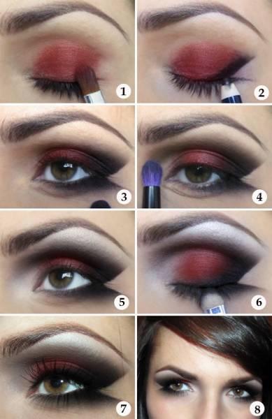 Maquiagem Bruxa Tipos Passo