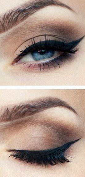 maquiagem para olhos de bruxa