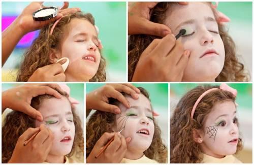 maquiagem de bruxa infantil passo a passo