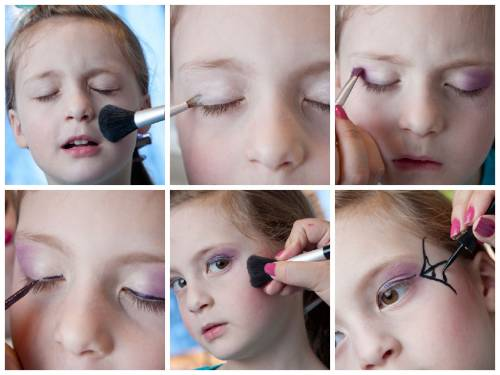 fotos maquiagem de bruxa infantil
