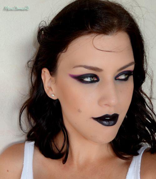 maquiagem de bruxa facil de fazer