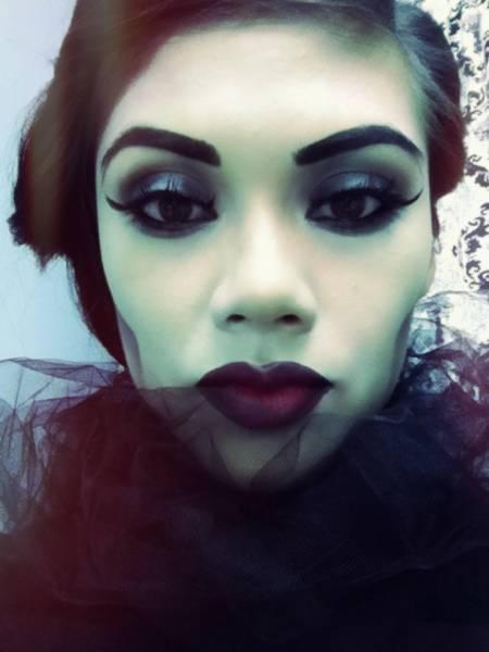 foto estilo bruxa malvada