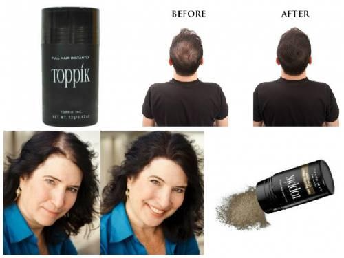 fotos antes e depois Toppik