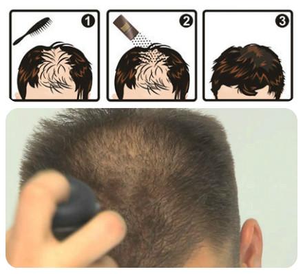 como usar Jet hair e Toppik