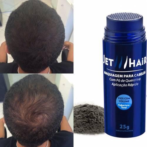 foto antes e depois Jet Hair