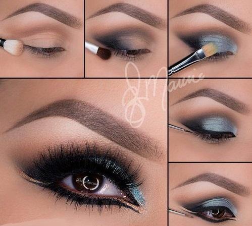 maquiagem arabe 1