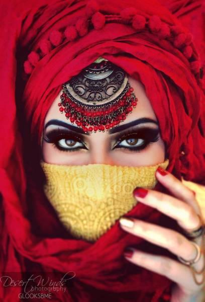 maquiagem arabe 13