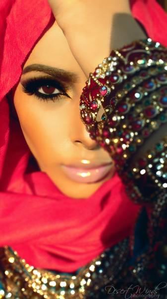 maquiagem arabe 15