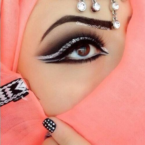 maquiagem arabe 22