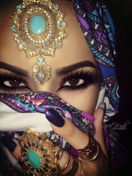 maquiagem arabe 23