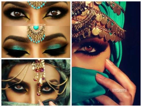 maquiagem arabe 24