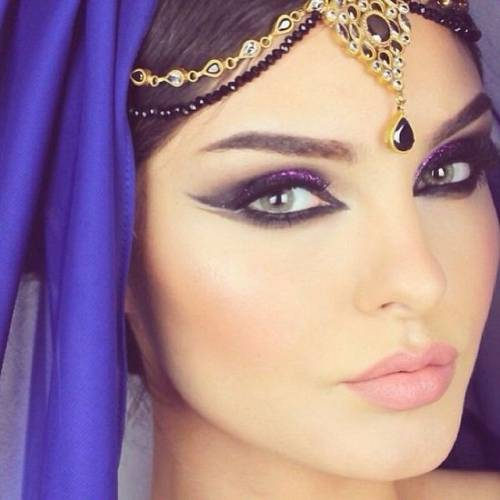 maquiagem arabe 6