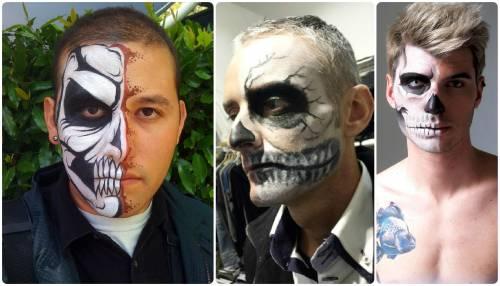 maquiagem duas caras masculina
