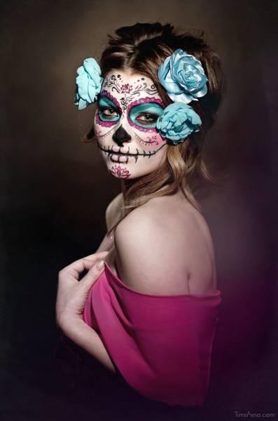 imagem caveira mexicana