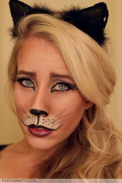 maquiagem de gatinha fantasia tutorial