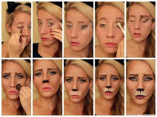 Tutorial maquiagem estilo gatinha simples