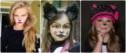 maquiagem de gatinha infantil
