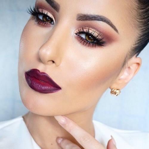 Maquiagem feminina para noite