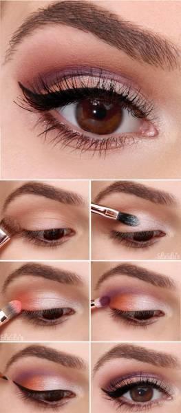 maquiagem para o dia colorida - como fazer