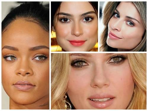 imagens de maquiagens para o dia