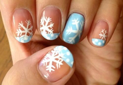 unhas frozen decoradas 15