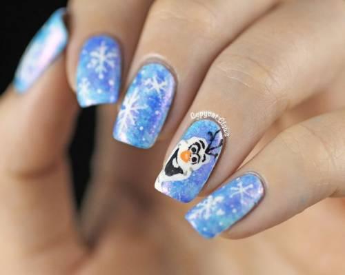 unhas frozen decoradas 21