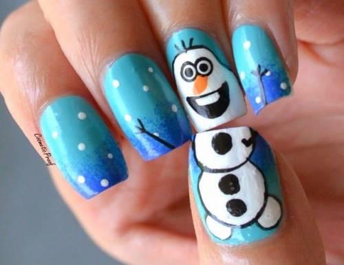 unhas frozen decoradas 4