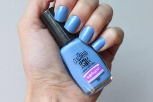 esmalte azul avon colorama horizonte azul