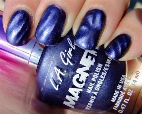 esmalte azul la girl