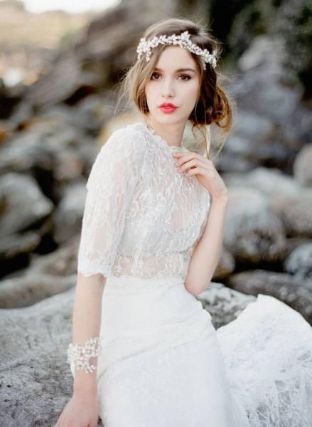 batom cereja noiva