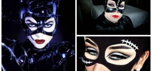 fantasia e maquiagens mulher gato