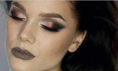 maquiagem bronze