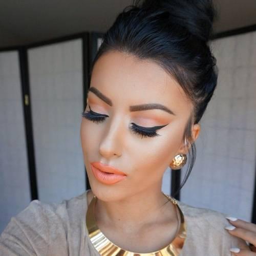 maquiagem acessórios dourados