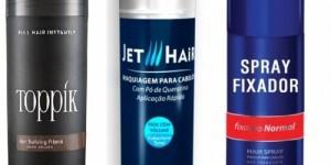 JET HAIR e TOPPIK - Maquiagem para Cabelo
